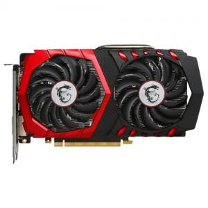 Видеокарта GeForce GTX1050Ti OC, MSI, GAMING, 4Gb DDR5, 128-bit, DVI/HDMI/DP, 1493/7108 MHz (GTX 1050 Ti GAMING X 4G)